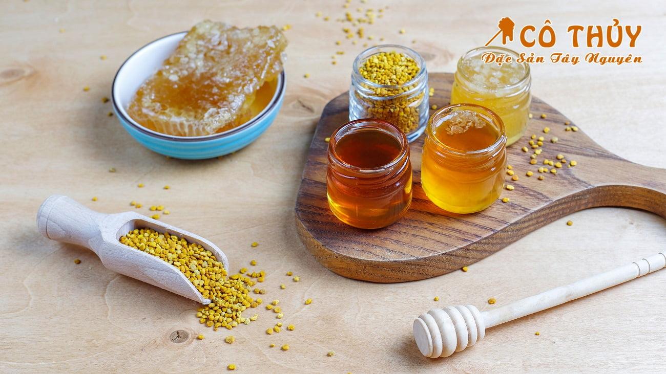 Những công dụng tuyệt vời của mật ong tự nhiên