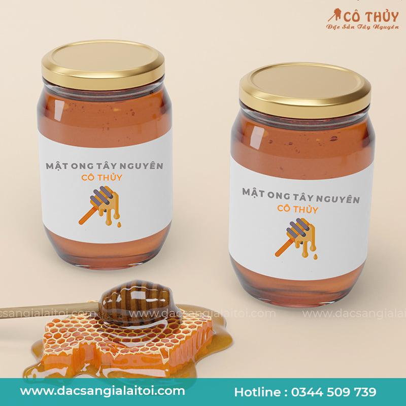Bộ Quà Tặng Mật Ong Cao Nguyên 2 Lọ 400ml - Honey Gift Set 400ml