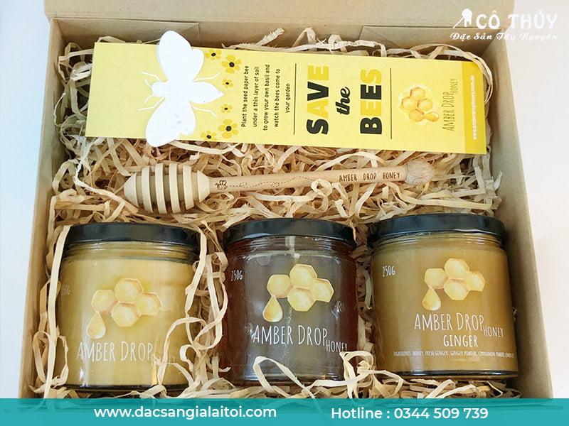 Mật ong làm quà tặng trung thu với thiết kế độc đáo ( Ảnh: Sưu tầm)