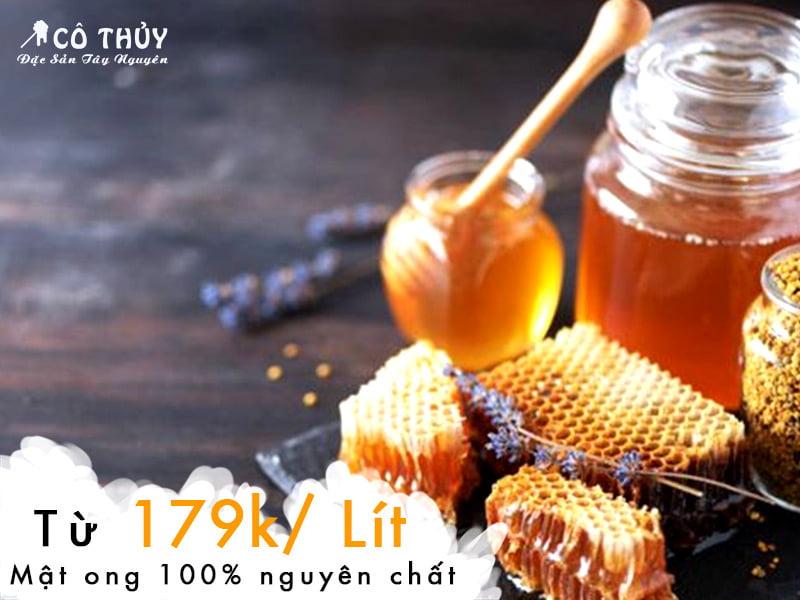 Mật ong nguyên chất bao nhiêu tiền 1 lít
