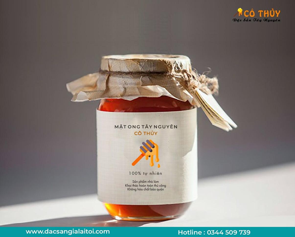 uống mật ong để tăng cân hiệu quả tại nhà