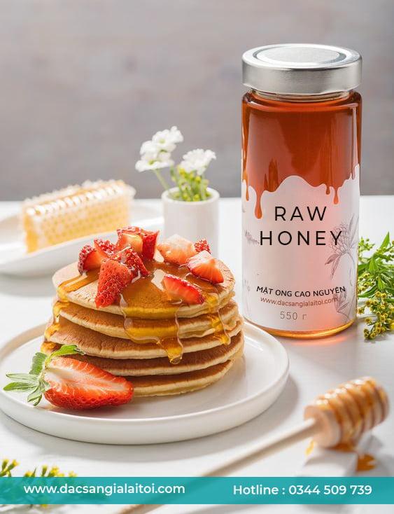 Bảo quản mật ong trong chai lọ thủy tinh & gốm sứ