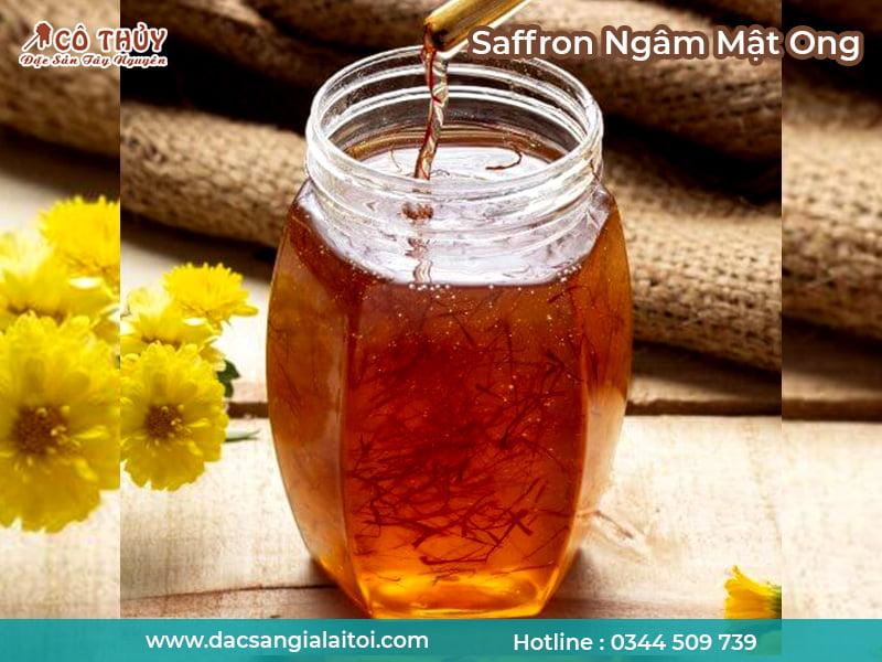 Tại sao Saffron được ngâm cùng mật ong?