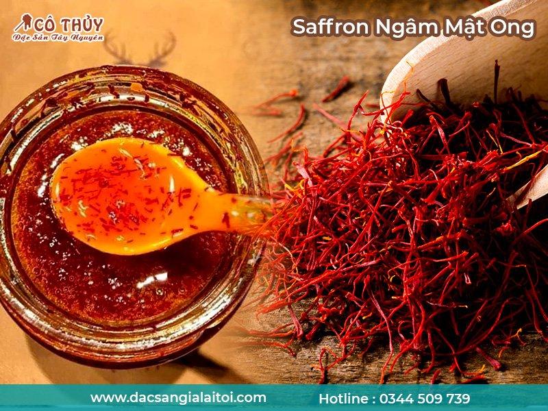 Nhụy hoa nghệ tây Saffron ngâm mật ong là một trong những thảo dược tốt cho sức khỏe