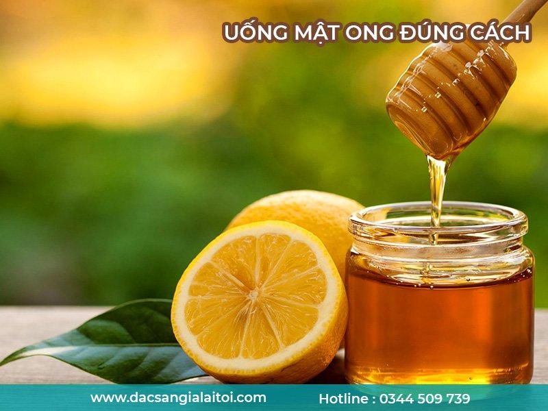 Hướng dẫn uống mật ong đúng cách